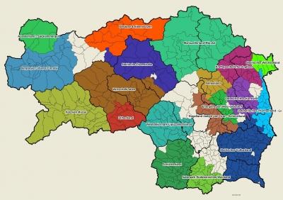 Leader Regionen